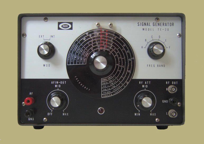 Tech Signal Generator TE-20 Engels